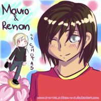 Mauro and Renan--as shotas ewe by 0-w-VaLe-Chan-w-0