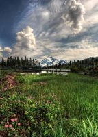 HDR - Mt. Shuksan by aeroartist