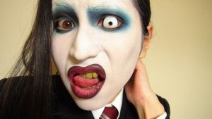 - *3rd* Marilyn Manson - Makeup by KisaMake