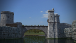 Towers and creek by Canapy-3D