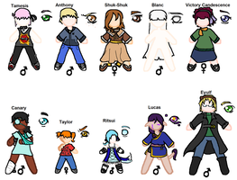 Paper Doll BJDs by super-spazz-muffin