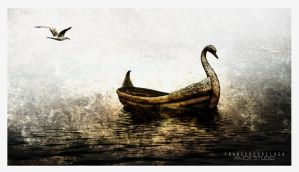 Swan Boat by Amok-Studio