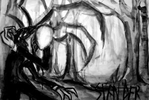 Slenderman by Schruppi