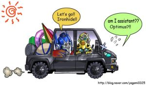 Transformers MV  - vacation by GoddessMechanic
