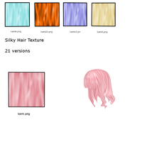 Silky Hair texture pack by XannieCrab