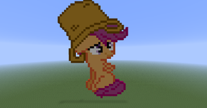 Scootaloo in minecraft by Dutchcrafter