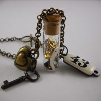 Steampunk Necklace by Nite0wlStudios