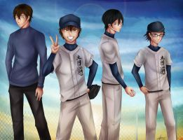 Koshien is our goal! by Maniac-ani