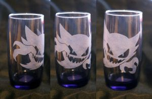 -Etsy- Purple Laser Engraved Haunter Glass
