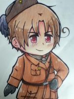 APH: Chibi 2p Italy by Nutmeg9