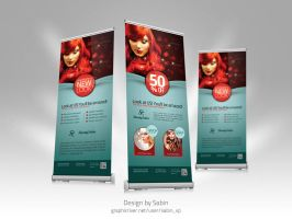 graphic river Product Roll-Up Template vol1 by valentinpl