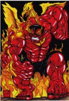 Redhulk Pheonix by darkartistdomain
