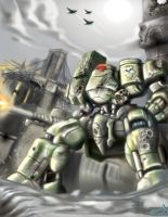 Mecha Seige 1 by Tatong