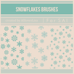 [For SAI]  Snowflakes Brushes by ASlovesLisa