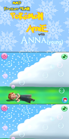 MMD Frozen-PKMN Comic- PKMN Amie with Anna (young) by JackFrostOverland