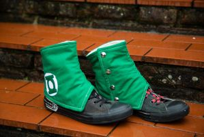NerdWear: Green Lantern Spats II by Costumy