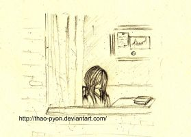 Such a rainy day.. by Thao-Pyon