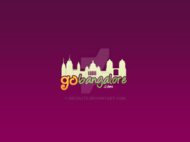 Go Bangalore Logo by decolite
