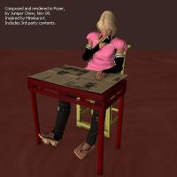 Maid-Sanzou 3D by ibr-remote