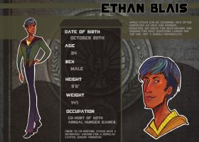 Hunger Games OCT: Ethan by bunnychan13
