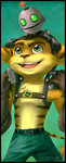 Ratchet and Clank Bookmark by ButtercupBabyPPG
