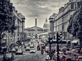 Red Lights Paris by japanhead69