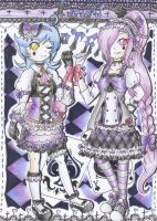Zelie & Youkou-LoLi GoThiC Collection by TokiHoshiwa