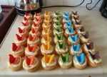 Rainbow butterfly cupcakes for Children in Need. by Darkmoonlilly