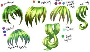 Hair part 3 by DarkVow