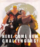 Here come new challengers by JeromB