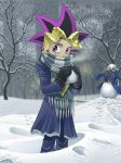 Wintertime Yugi by hibbary