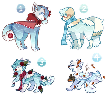 Winter Water Dog Auctions ( closed ) by twinelights