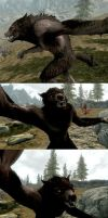 Skyrim - Werewolf Intelligence by avpke