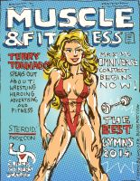 Terry Tornado Muscle Mag by TheCosmicBeholder