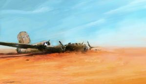World War 2: Lady Be Good 'Lost in desert' by VitoSs