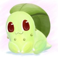 Chikorita by Swadloon