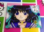 ACEO: Sailor Saturn by YuniNaoki