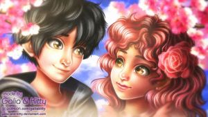 Commission: Hiro and Erica by galia-and-kitty