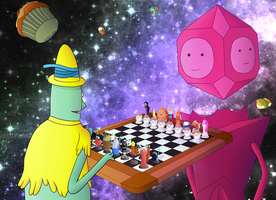 Adventure Time Chess Project - Final Game by EderEdyy