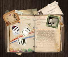 Book Portofolio Design by SNWEBDESIGN