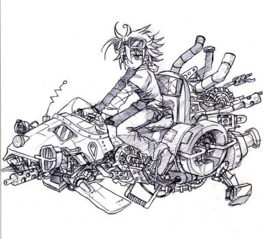 hoverbike by Jump-Button