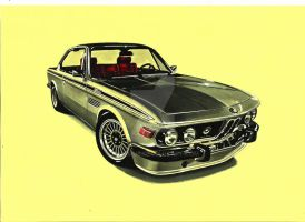 1973 BMW E9 3.5 CSi by przemus