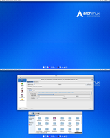 Arch KDE Awesomeness!! by CraazyT