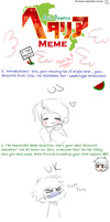APH meme of tired by Nire-chan