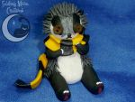 Cute as a Button Hufflepuff Badger by SmilingMoonCreations
