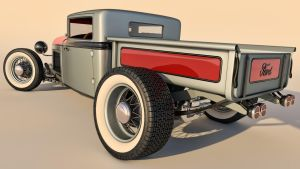 1930 Ford Model A Pickup Rod by SamCurry