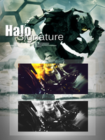 Halo Signature by Cp-kun