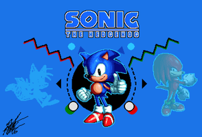 Character Select: Sonic by ShockRabbit