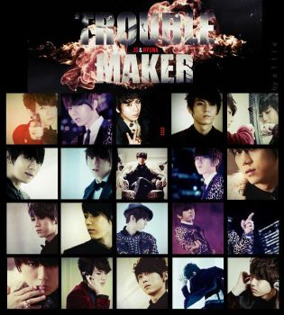 trouble maker HyunSeung MV icon pack 20 by e11ie