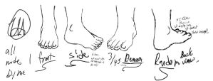Feet Practice MA_I Submission by Esvandetta